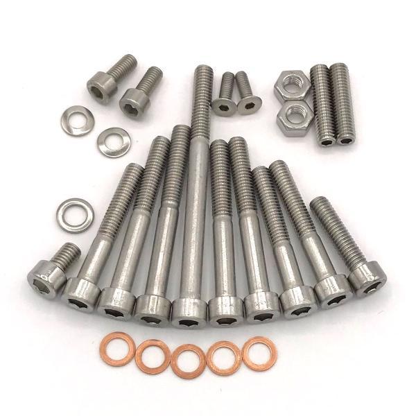 Edelstahl Zylinder-Schraube rostfrei V2A M5-mm stark 16-mm Schrauben-L/änge 50 St/ück 15-mm Teil-Gewinde Innensechskant M5x16